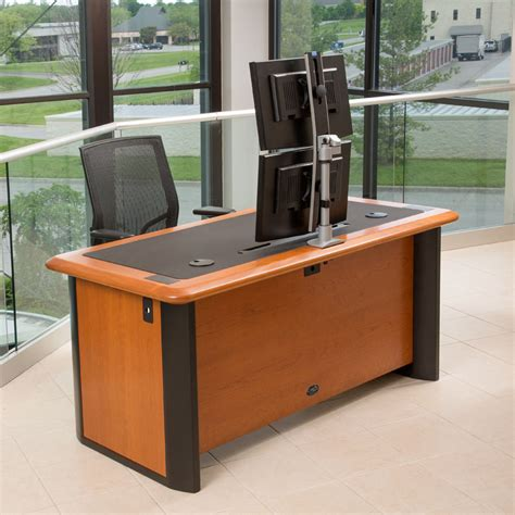 dual monitor corner desk best multi monitor computer desk best computer desk for