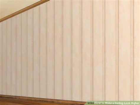 3 ways to make a ceiling look higher wikihow