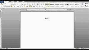How To Set The Tabs In Microsoft Word 2010