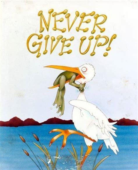 Never Never Never Give Up!  Matt Morris