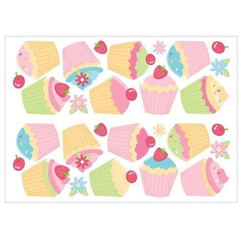 Fun4walls Cupcake Wall Stickers Stikarounds (sa30169