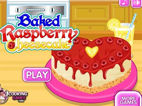jeux en ligne de cuisine jeu de cheese cake à la framboise