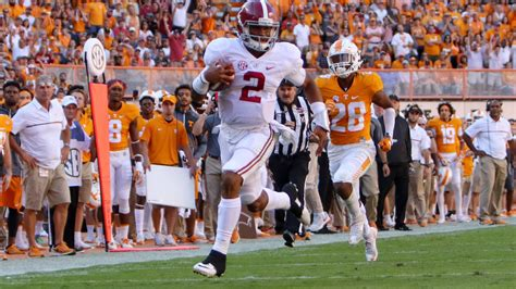 alabama  tennessee  final score