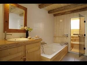 location chalet isole alpage pistes foret saint With salle de bain avec sauna