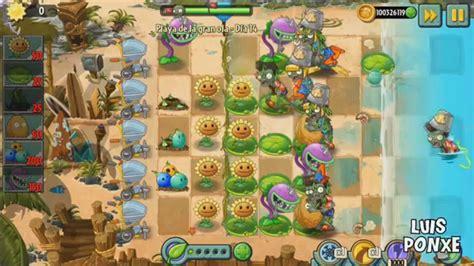 10 plantas vs zombies 2 playa de la gran ola 14