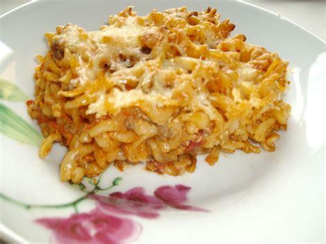 calorie gratin de pate gratin de p 226 tes bolognaise la cuisine de sabounet