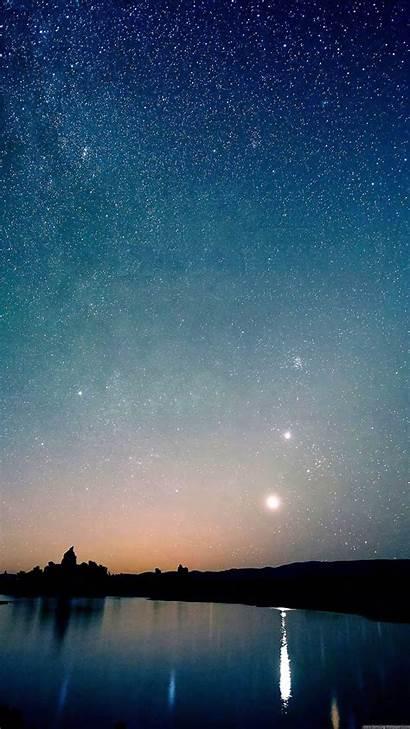 Sky Night Wallpapers Galaxy S7 Stars Edge