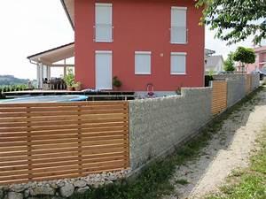 Gabionenzaun Mit Holz : gabionenzaun hochwertige gabionen in 10 15 und 23 cm von ~ Lizthompson.info Haus und Dekorationen