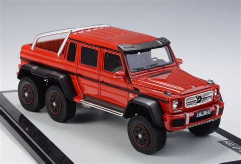 mercedes benz  amg   red  glm   scale