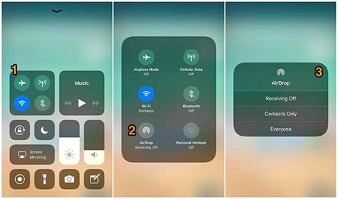 to airdrop from iphone to iphone airdrop disappeared how to turn on airdrop on iphone x