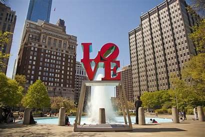 Philadelphia Park Jfk Plaza Wheretraveler Parque Amor
