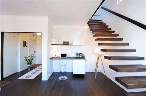 small penthouse small but fantastic penthouse apartment in stockholm freshome com