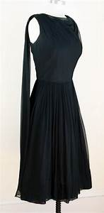 Black vintage cocktail dresses