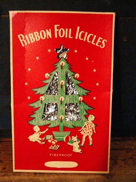 vintage christmas tree icicles vintage christmas garland