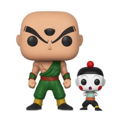 figuren pop dragon ball  chiaotzu und tien funko genf