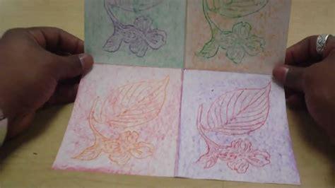 art lessons  kids texture leaf rubbing tribute