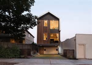 Narrow Lot Houses by Ultra Modern Narrow Lot House Plans Studio Design