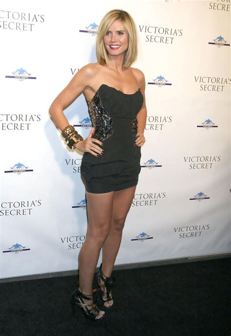 Heidi Klum In Victorias Secret Lexington Flagship Store