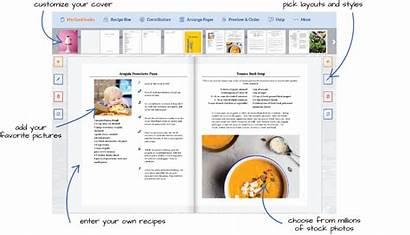 Cookbook Own Recipe Create Recipes Write Designer