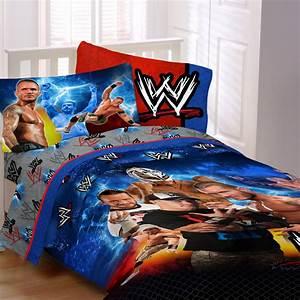 Wwe champion comforter home bed bath bedding for Wwe bathroom set