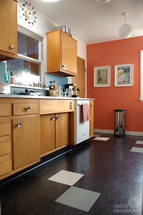 sarahs super economical retro kitchen remodel featuring