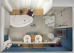 Badgestaltung Kleines Bad : kleines badezimmer ideen l sungen f r mini badezimmer ~ Sanjose-hotels-ca.com Haus und Dekorationen