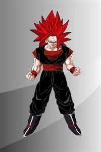 OC DBZ Super Saiyan God
