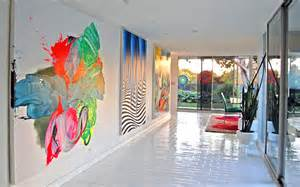 interior paintings for home more neon interior design ideas for a radiant home