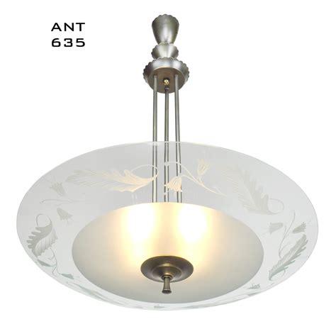 mid century modern ceiling light midcentury modern vintage chandelier lens bowl ceiling