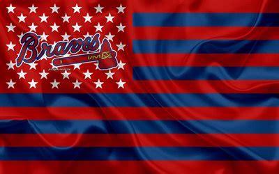 wallpapers atlanta braves american baseball club
