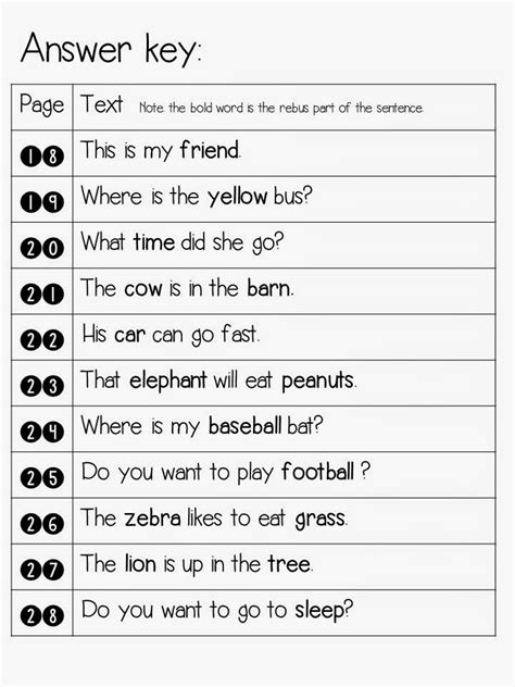 Sentence Detectives No Prep Reading And Sight Word Fun Freebie!  Mrs Jump's Class