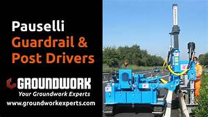 Easy And Efficient Guardrail Safety Barrier Installation