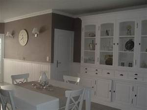 decoration salle a manger couleur taupe exemples d With salle a manger 2 couleurs