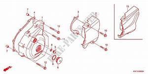 Left Crankcase Cover Alternator  2  For Honda Cbf 150