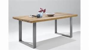 Eiche Massiv Tisch : esstisch 2559 tisch in eiche natur massiv ge lt 180x100 ~ Eleganceandgraceweddings.com Haus und Dekorationen