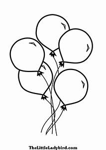 Balloon coloring pages coloring pictures of balloons ...
