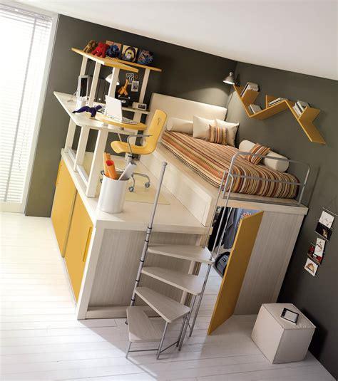 lit mezzanine avec bureau pour ado lit enfant mezzanine avec bureau