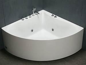 Baignoire D Angle 135x135 : baignoire d 39 angle agyness 1 place 263l 8 hydrojets ~ Edinachiropracticcenter.com Idées de Décoration