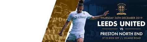 Tickets: Preston North End (H) - Leeds United