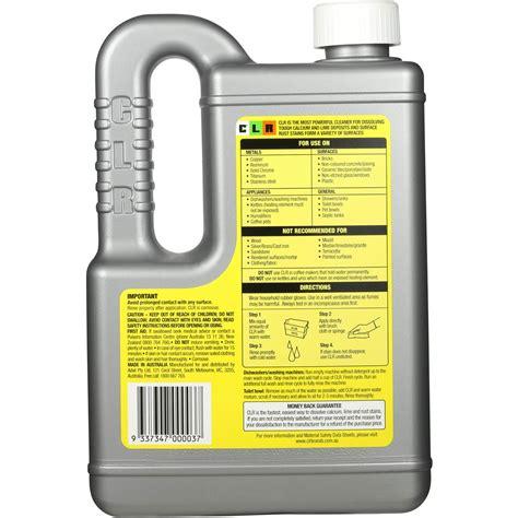 Clr Bathroom Cleaner Australia by Clr Multipurpose Cleaner Calscium Lime Rust Woolworths