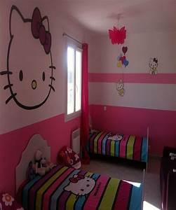 Chambre Hello Kitty : d coration chambre bebe hello kitty ~ Voncanada.com Idées de Décoration