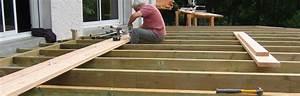construction assistee de votre terrasse bois sol ou With faire sa terrasse en bois