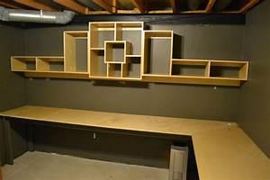 Office corner desk unique shelf by neomoses for Office corner shelf