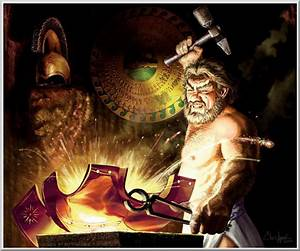 Myth Man's Hephaestus