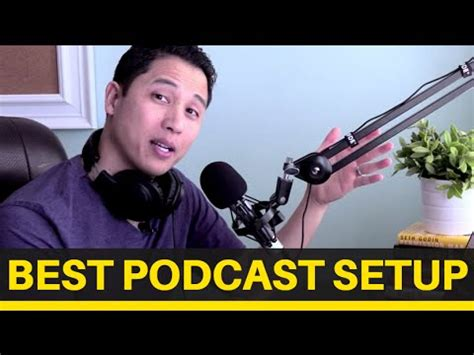 Best Podcast Equipment Setup For Beginners (video 2 Of 3