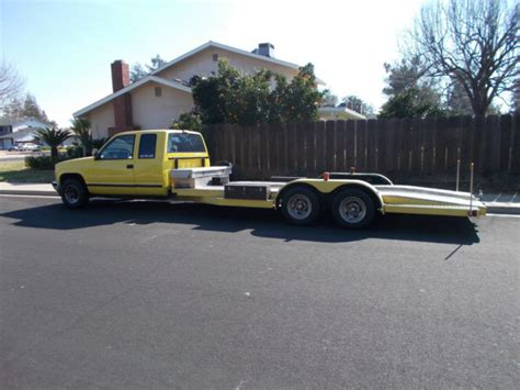1992 Gmc Car Hauler Ramp Truck For Sale