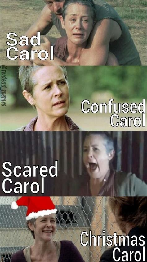 Carol Walking Dead Meme - the many faces of carol the walking dead pinterest walking dead