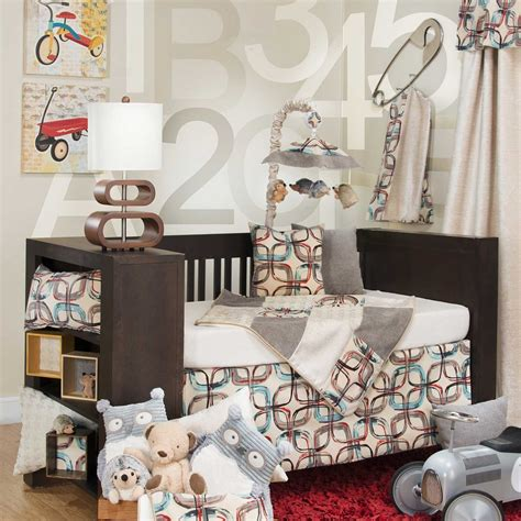 Glenna Jean Baby Bedding by Glenna Jean Jetson 4 Crib Baby Bedding Set