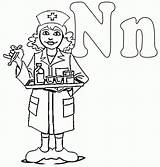 Nurse Coloring Pages Male Drawing Nurses Colouring Printable Night Clipart Shift National College Activity Cliparts Preschool Nursing Workers Clip Letter sketch template