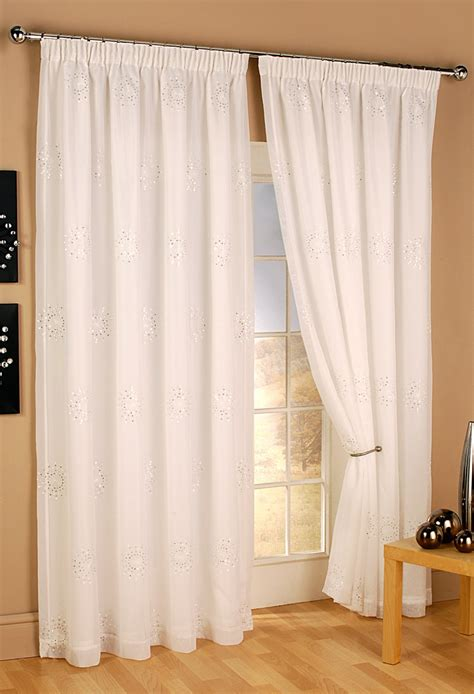 Voile Curtains by Ready Made Curtains Woodyatt Curtains